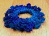 ☆編み編みを少し・新入りさん毛糸☆ - ガジャのねーさんの  空をみあげて☆ Hazle cucu ☆