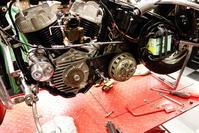 1958陸王RTⅡクラッチ・オイルタンク・点火時期 - Vintage motorcycle study