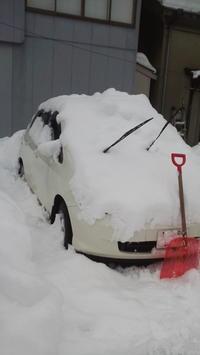 車の掘り出し - ひだまり・えんがわ