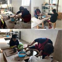親子でろくろ教室 - 陶工房スタジオ ル・ポット