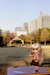 レイナちゃんと日比谷公園お散歩の続き - T's Photo Diary2(Grass Field*)