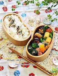椎茸の肉詰め弁当と今週の作りおき♪ - ☆Happy time☆