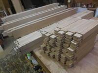 引き違い戸の格子加工 - 手作り家具工房の記録
