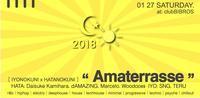 2018.12.27.SAT│- AMATERRASSE - vol.04 @clubBIBROS - CENDRILLON+