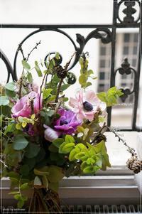 yumi saito paris ~ Bouquet champêtre d'hiver - * Spice of My Life *