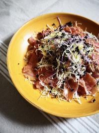 カット野菜でサラダ - Kitchen diary