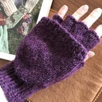 嶋田さんの「指カバー付き手袋」完成しました。 - きままに自由時間