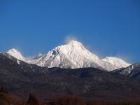 寒さの底 - 八ヶ岳 革 ときどき くるみ