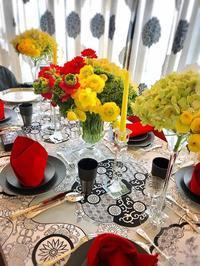 テーブルコーディネイト講座初級編4回目 - Table & Styling blog