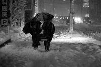 2018来し方行く末 #11 ドカ雪の夕暮れ、取り敢えず写真を撮ってみた#08 - Yoshi-A の写真の楽しみ