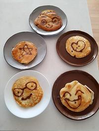 お絵かきホットケーキ - pig meets monkey
