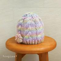 ナナイロ♪キッズのニット帽 - *編み物のある生活 tsukurimono*