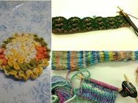 土曜日の武蔵小山編み物レッスン♪@スクエア荏原 - 空色テーブル  編み物レッスン&編み物カフェ