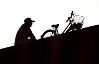<独居老人>2003年 墨田区 - 写真家藤居正明の東京漫歩景