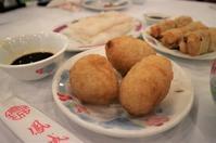 北角の鳳城酒家で朝飲茶 - 香港*芝麻緑豆