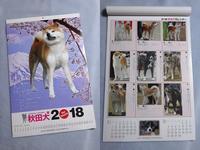 秋田犬カレンダー - ハスキーがやってきた
