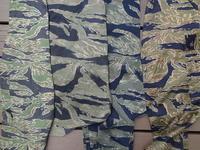 TIGER STRIPE の迷宮 おばけの腕( Phantom Arm )比べ - M-51Parkaに関する2,3の事柄