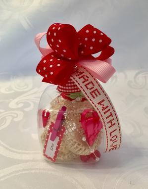 【バレンタイン ギフト フォー ユー(Valentine Gift For You)】 - ハワイでリボンレイ&製作スクール  Ribbon lei Happy na Mainichi!