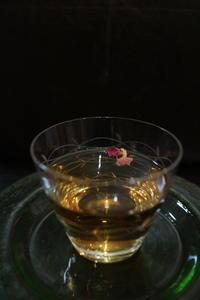 薔薇のお茶 - 「lam」バッグ製作と日々のくらし・・・