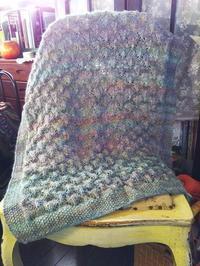 ウールのブランケット - Knitting Note