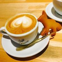 韓国のお友達と原宿へ 2  IGで人気の「CAFE KITSUNE」☆ - ハレクラニな毎日Ⅱ