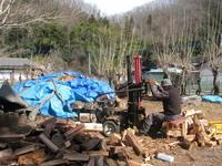 ビラパワの冬の仕事と窯焼きいも - オープンガーデン villapawa land