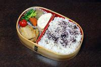 アジの蒲焼き - 庶民のショボい弁当