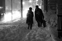 2018来し方行く末 #13ドカ雪の夕暮れ、取り敢えず写真を撮ってみた#10 - Yoshi-A の写真の楽しみ