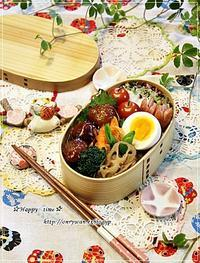 肉団子の甘酢餡弁当と今夜のおうちごはん♪ - ☆Happy time☆