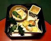 前菜です - 金沢犀川温泉 川端の湯宿「滝亭」BLOG