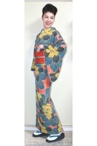 今日の着物コーディネート♪(2018.1.17)~小紋着物&漆箔名古屋帯編~ - 着物、ときどきチロ美&チャ美。。。お誂えもリサイクルも♪