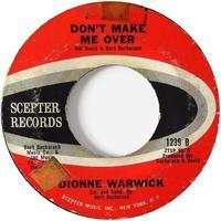 Dionne Warwick – I Smiled Yesterday / Don't Make Me Over - まわるよレコード ACE WAX COLLECTORS