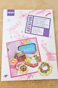 HEMAの折り紙ケーキ工作セット☆ - ドイツより、素敵なものに囲まれて②