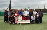 シニアテニスクラブの紅白戦 - 東金、折々の風景
