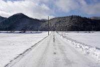 雪道 - 四十の手習い 自転車と写真が好き