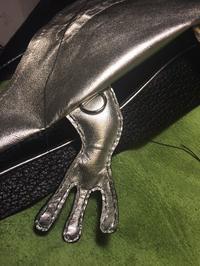 黒レオパの縫い合わせ - 布と木と革FHMO-DESIGNS(エフエッチエムオーデザインズ)Favorite Hand Made Original Designs