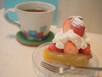 いちごのタルト:ワノワイナリー(鶴田町) - 津軽ジェンヌのcafe日記