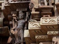 カンダーリヤ・マハーデーヴァ寺院に棲む栗鼠 - TOM'S Photo