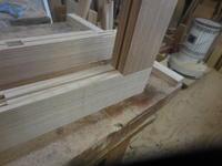引き違い戸,の - 手作り家具工房の記録