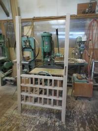 引き違い戸の組み立て - 手作り家具工房の記録