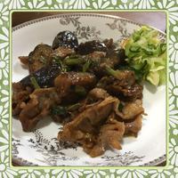 豚肉・茄子・あさつきの辛味噌炒め(レシピ付) - kajuの■今日のお料理・簡単レシピ■