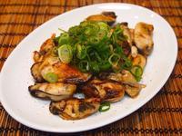 牡蠣の鉄板焼き - sobu 2