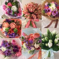 春の球根花がカラフルでワクワク!今年のレッスンが始まりました! - Brindille Diary フラワースクール ブランディーユのBlog