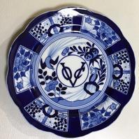 染付藍色の魅力 - 赤煉瓦洋館の雅茶子