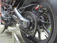 K5サン号 MT-09もチェーンを520コンバート化!(^^♪ - バイクパーツ買取・販売&バイクバッテリーのフロントロウ!