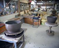 背の高い水鉢の碗継ぎ造りその2 - のぼり窯 窯元の日々