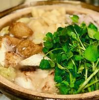クレソン鍋 - マドモアゼルジジの感光生活