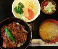 ステーキ丼@石川町みずむら - 横浜元町のネイルサロンMAUVEの情報サイト~revue au Mauve~