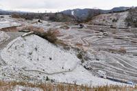 雪景 ~下赤坂の棚田 - katsuのヘタッピ風景
