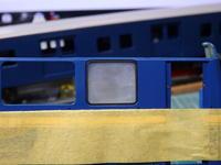 アオシマのDD51蒸気発生室の窓 - Sirokamo-Industry